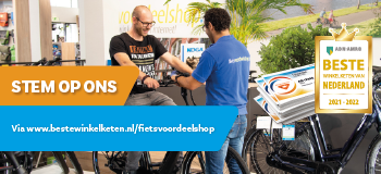 Stem jij ook op Fietsvoordeelshop.nl als 'Beste Winkelketen van Nederland'