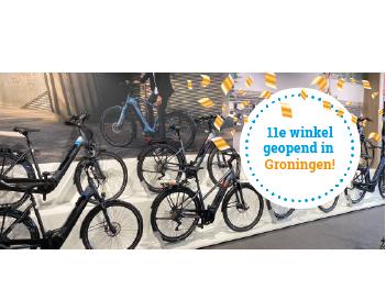 Fietsvoordeelshop.nl nu ook in Groningen