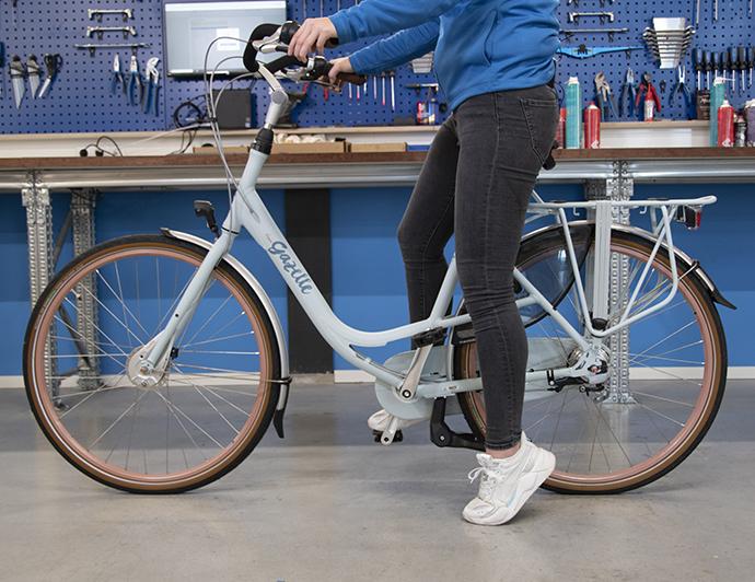 Stuur en zadel van uw fiets afstellen